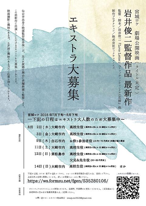 岩井俊二監督の新作映画